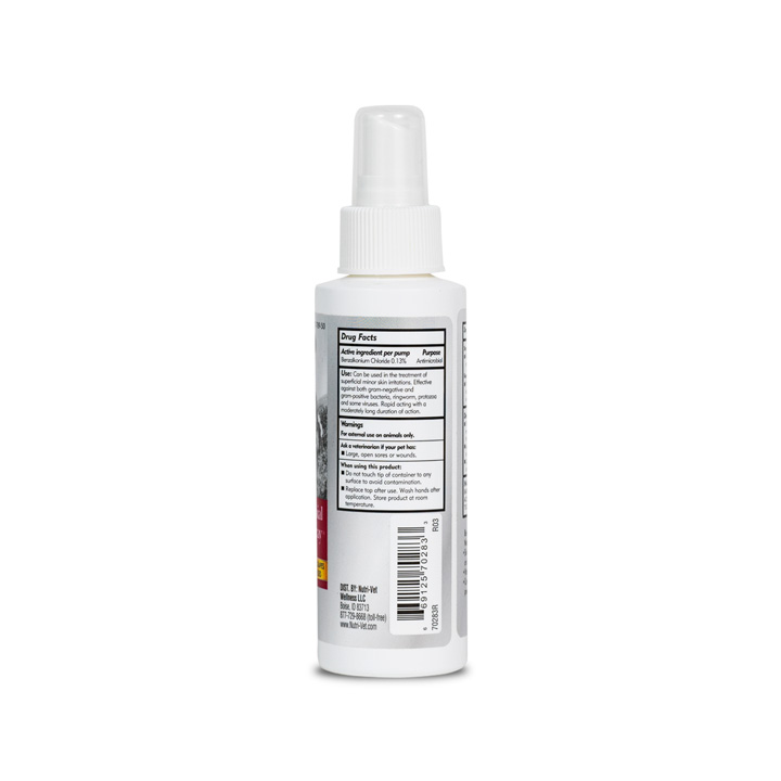 Anti-Microbial Wound Care Spray for Cats - Back