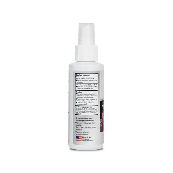 Anti-Microbial Wound Care Spray - Back