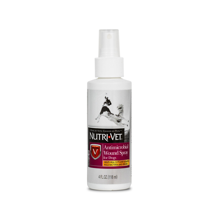 Anti-Microbial Wound Care Spray - Front