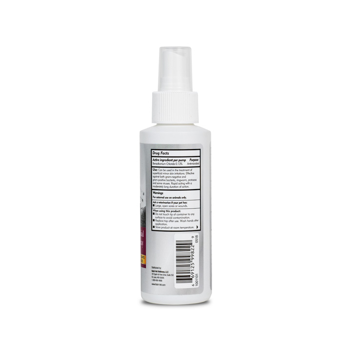 Anti-Microbial Wound Care Spray - Side