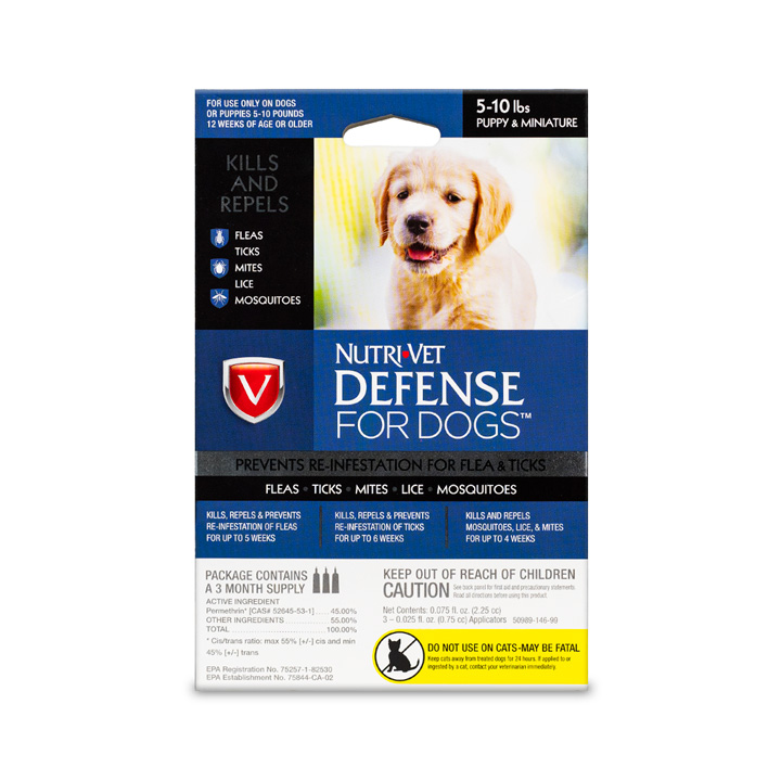 Defense Flea & Tick for Puppies - Front