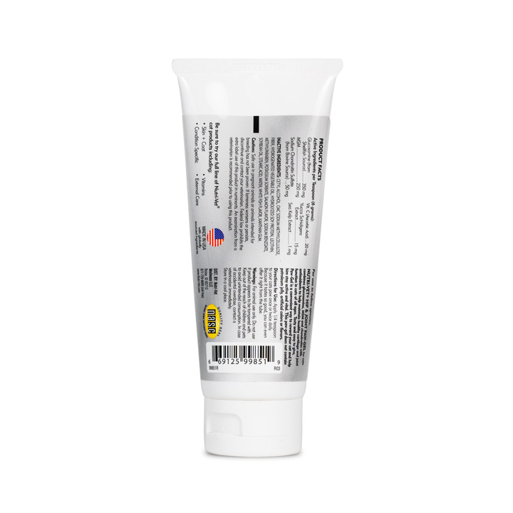 Hip & Joint Extra Strength Paw-Gel - Back