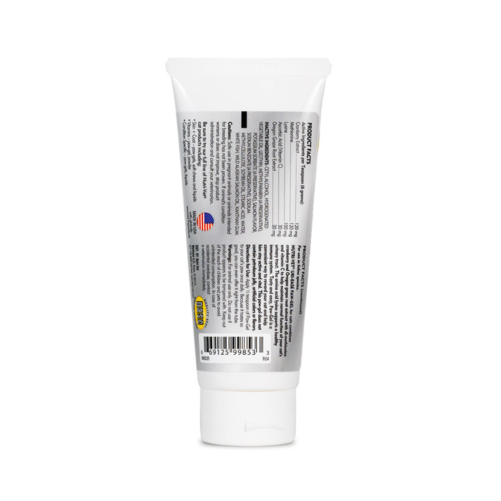 Uri-Ease Paw Gel - Back