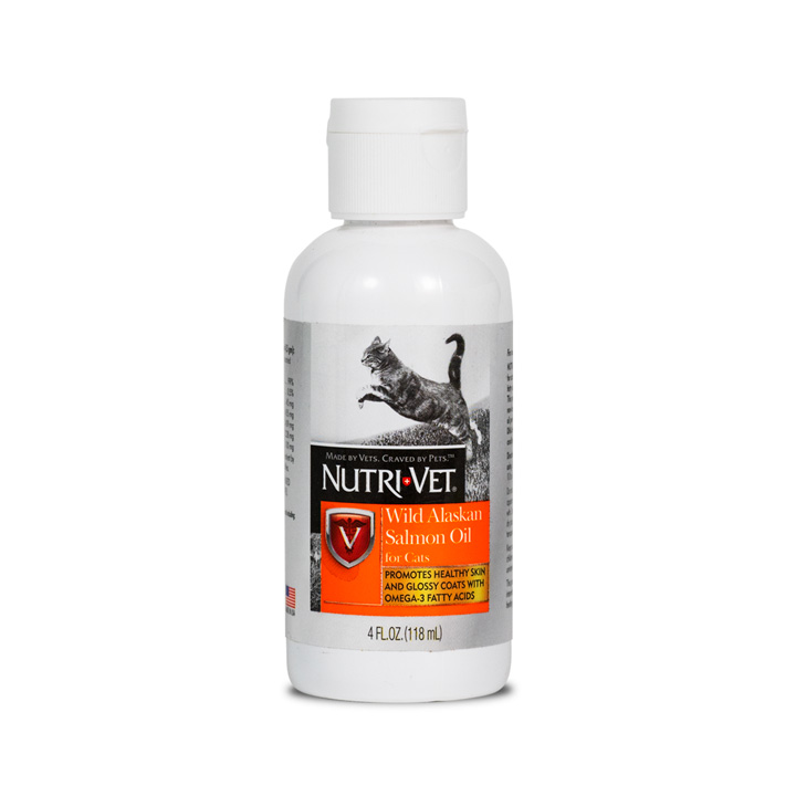 Wild Alaskan Salmon Oil for Cats - Front